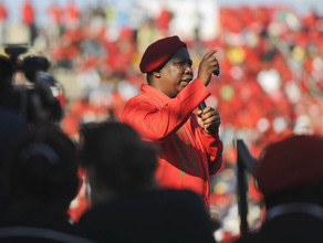 At the EFF's final rally, Julius Malema had some choice expressions in Sepedi for his opponents. We translated some of the highlights of his speech.