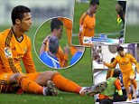 Cristiano Ronaldo suffers fresh injury blow as Real Madrid winger limps out of Valladolid clash