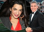 September bride! George Clooney set to marry Amal Alamuddin in five months - but he had to pass muster with her family first