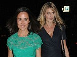 The could be sister-in-laws: Pippa Middleton takes brother James' partner Donna Air under her wing for double date with friends