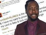 You can't sit with us! will.i.am. is kicked out of first class airport lounge before arriving to P. Diddy's Howard University commencement speech