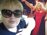 Rebel Wilson tweets that her show Super Fun Night had been axed and expressed her devastation on Saturday