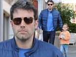 Daddy duty! Ben Affleck is hands-on dad while protectively staying close to daughter Seraphina in Brentwood