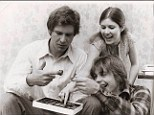 Too Chewy for you? Grumpy Harrison Ford eats chocolates with Carrie Fisher and Mark Hamill on Star Wars set in rare photos