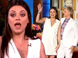 'I'm going all natural!' Mila Kunis reveals she plans on using a midwife as she talks for the first time about her pregnancy