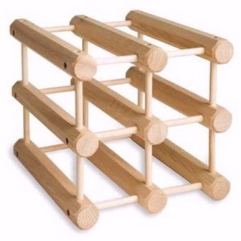 wooden wine racks, other piece