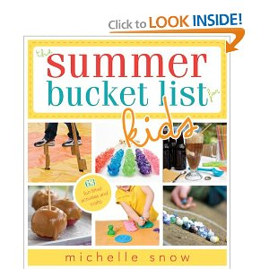 summer bucket list kids book