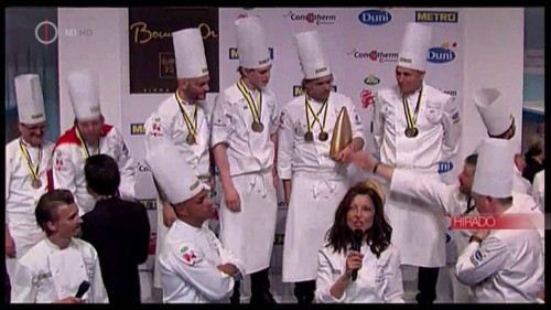 Kettős magyar siker a Bocuse d'Or-on