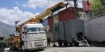 Hakkâri Belediyesi, polis inşaatını mühürledi