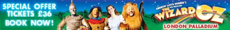 Wizard of Oz Tickets Offer