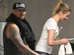 'She likes the bad boys!' Cameron Diaz is 'dating' Benji Madden as the pair are spotted out together in Beverly Hills