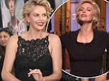 When art imitates life! Charlize Theron says she can curse just a good as the boys, and reveals her new role didn't take much acting at all