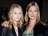 Kate Moss may have hit 40 this year but the new model on the family production line ¿ her 16-year-old half-sister Lottie (left) ¿ is already plotting the next step in her catwalk career