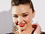 Just friends: Miranda Kerr says she is on excellent terms with billionaire James Packer despite denying rumours the pair are romantically linked