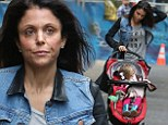 Bethenny Frankel cut a low key figure as she headed out with her daughter on Friday.