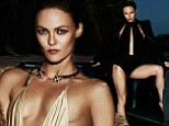 Vanessa Paradis takes the plunge in cleavage-baring swimwear for sexy Malibu spread