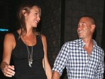 118981, EXCLUSIVE: Stacy Keibler and husband Jared Pobre arrive at RivaBella Restaurant for a dinner date in West Hollywood. West Hollywood, California - Thursday May 15, 2014. Photograph: © Devone Byrd, PacificCoastNews. Los Angeles Office: +1 310.822.0419 London Office: +44 208.090.4079 sales@pacificcoastnews.com FEE MUST BE AGREED PRIOR TO USAGE
