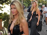 Amy Willerton flashes some side-boob