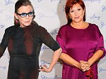 She was TOLD to lose 35 pounds! Carrie Fisher reveals she had to drop a substantial amount of weight to reprise her Princess Leia role in Star Wars: Episode VII
