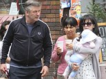 Getting away from it all: Alec Baldwin takes wife Hilaria and baby Carmen to the Hamptons after nasty week that included an arrest and Twitter rant