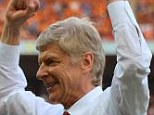 Going nowhere: Arsenal boss Arsene Wenger has confirmed he will be staying on as manager