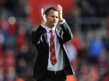 Applause: Ryan Giggs is ready to become Louis van Gaal's No 2 at Manchester United