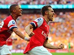 They've done it! Aaron Ramsey's extra time winner saw Arsenal end their nine-year trophy drought at Wembley
