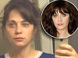 She woke up like this! Zooey Deschanel goes completely make-up free as she shares selfie shortly after rolling out of bed