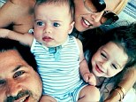 Flashback Friday! Rachel Zoe shares an adorable photo of her family reclining upon one another