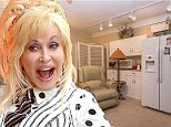 Not quite Dollywood! Dolly Parton puts her bizarre $1.4 million Californian home on the market and it has to be seen to be believed