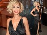 Rita Ora attends vodka party