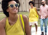 Solange Knowles escapes difficult 'family problems' in The Big Easy in wake of furore over elevator skirmish with sister Beyonce's husband Jay Z