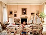 Bunny Mellon is said to have had the single greatest influence on the design style of former first lady Jackie Kennedy. The two were longtime friends and Mellon was invited to redesign the White House's Rose Garden in 1962. Pictured is the so-called pink room of Mellon's exquisite Upper East Side mansion, now on the market for a shocking $46million