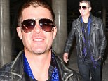 Cut that out! Robin Thicke shows off new buzz hair 'do a day before his Billboard appearance