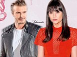 David Beckham and MTV presenter Lilah Parsons were having a giggle the other night scrolling through Tinder, the networking-come-dating app which lets you 'swipe' your way through singletons