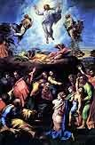 jesus christ Images for chrsitmas: Transfiguration by Raphael high resolution