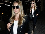 Rosie heads to LAX airport