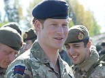 Prince Harry visiting NATO's Spring Storm exercise with President Toomas Hendrik Ilves of Estonia