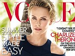 Charlize Theron june vogue cover