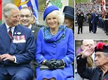 Charles and Camilla on their tour of Canada