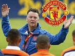 New Man Utd boss Louis van Gaal