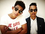 Star attraction: Rizzle Kicks are due to perform at England charity dinner