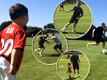 Wayne Rooney fighting fit in Algarve training session as England striker shows more promising signs ahead of World Cup in new Facebook video