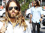 Still a bachelor? Jared Leto steps out solo after being linked to model Dimphy Janse