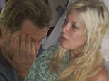Tori Spelling rushed to hospital with severe abdominal pains 'brought on by stress from Dean McDermott's cheating' in sneak peek