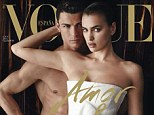Power couple: Footballer Cristiano Ronaldo and his model girlfriend, Irina Shayk, show off their sex appeal in a racy new shoot for Spanish Vogue
