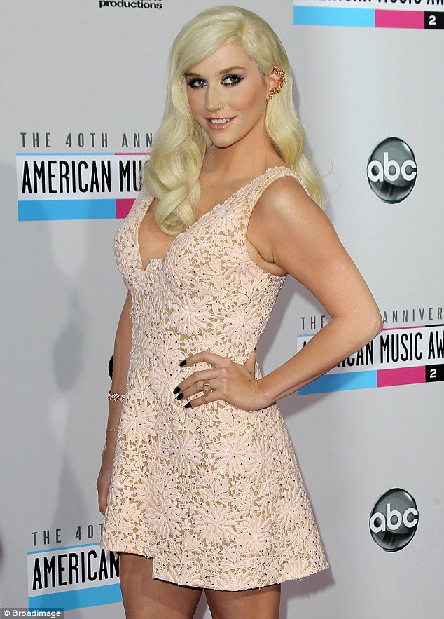 Platinum blonde: She channelled Marilyn Monroe with her hairstyle in November 2012