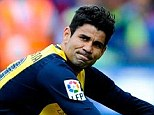 Hope: Costa should be fit to take his place in Spain's World Cup squad
