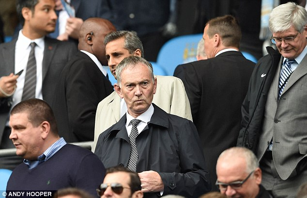 Scandal: Premier League chief Richard Scudamore is in trouble over emails exchanged with a friend