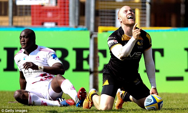 Scrape: Wasps managed a 30-29 victory against Stade Francais in High Wycombe on Sunday